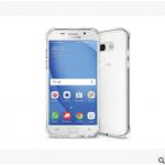 เคส Samsung A7 2017 พลาสติกโปร่งใส Crystal Clear ขอบปกป้องสวยงาม แบบที่ 2