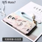 เคส Huawei Mate 7 พลาสติกสกรีนลายกราฟฟิกน่ารักๆ ไม่ซ้ำใคร สวยงามมาก แบบที่ 7