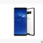 เคส Samsung Note 8 พลาสติกโปร่งใส Crystal Clear ขอบปกป้องสวยงาม แบบที่ 1