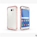 เคส Samsung A7 2017 พลาสติกโปร่งใส Crystal Clear ขอบปกป้องสวยงาม แบบที่ 4