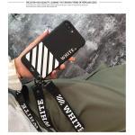 เคส ซัมซุง J7Plus tpu สายคล้องสั้น/ยาว White(ใช้ภาพรุ่นอื่นแทน)-สีดำ