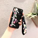 เคส tpu ลายนกฟรามิงโก มีสายคล้องข้อมือ ไอโฟน 6plus/6s plus(ใช้ภาพรุ่นอื่นแทน)