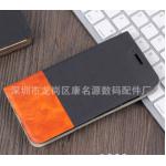 เคส Huawei Y9 (2018) แบบฝาพับสีทูโทน สามารถพัยตั้งได้ แบบที่ 1