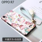เคส OPPO R7 Lite / R7 พลาสติกสกรีนลายกราฟฟิกน่ารักๆ ไม่ซ้ำใคร สวยงามมาก แบบที่ 8