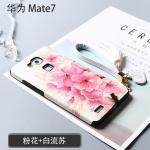 เคส Huawei Mate 7 พลาสติกสกรีนลายกราฟฟิกน่ารักๆ ไม่ซ้ำใคร สวยงามมาก แบบที่ 4