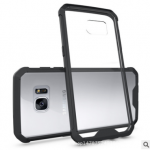 เคส Samsung S7 Edge พลาสติกโปร่งใส Crystal Clear ขอบปกป้องสวยงาม แบบที่ 2