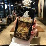 เคส iPhone X พลาสติก TPU สกรีนลายสวยงามมาก สามารถดึงกางออกมาตั้งได้ แบบที่ 1