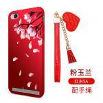 เคส Xiaomi Redmi 5A ซิลิโคนลายดอกไม้ พร้อมสายล้องสวยมากๆ แบบที่ 5