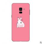 เคส Samsung A8+ 2018 (A8 Plus 2018) ซิลิโคนแบบนิ่ม สกรีนลายการ์ตูน แบบที่ 18