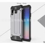 เคส Samsung A8 Star เคสกันกระแทกแยกประกอบ 2 ชิ้น ด้านในเป็นซิลิโคนสีดำ ด้านนอกพลาสติกเคลือบเงาโลหะเมทัลลิค แบบที่ 2