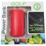 Power Bank Golf 5200 mAh Tiger 210 - สีแดง