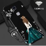 เคส Huawei GR5 2016 ลายผู้หญิง สีดำ#2