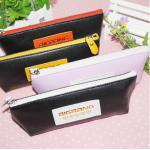 กระเป๋าดินสอหนัง BIGBANG (สีดำ-ส้ม)