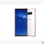 เคส Samsung Note 8 พลาสติกโปร่งใส Crystal Clear ขอบปกป้องสวยงาม แบบที่ 4