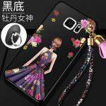 เคส Samsung S6 Edge Plus พลาสติกลายผู้หญิงแสนสวย พร้อมที่คล้องมือ สวยมากๆ แบบที่ 6