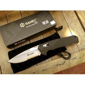 มีดพับ Ganzo กานโซ่ รุ่น Ganzo G716S ใบเทาด้ามดำ ของแท้ 100%