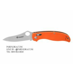 มีดพับ Ganzo กานโซ่ รุ่น Ganzo G733-OR ด้ามสีส้ม ของแท้ 100%