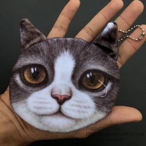 กระเป๋าใส่เหรียญ น่ารัก ขนาดกลาง แมวน้อย 1