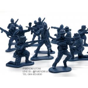 โมเดลทหารจิ๋ว สีน้ำเงิน