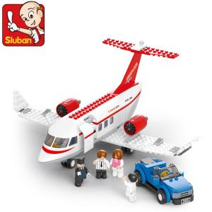 เครื่องบิน (Airplane) S-0365. ตัวต่อเลโก้จีน เครื่องบินส่วนตัว