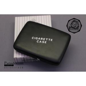 กล่องบุหรี่ DINGHAO มีไฟแชคในตัว เคสอลูมิเนียมอัลลอยด์ พกง่ายสะดวกใช้