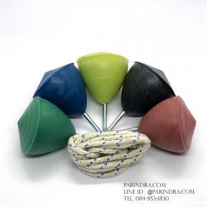 ลูกข่างพลาสติกขนาดกลาง คละสี