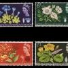 แสตมป์อังกฤษ ชุด 10th Botanical Congress ดอกไม้สวยงาม ปี 1964 - United Kingdom