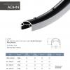 ขอบล้อ KINLIN ADHN 700C Double wall Rims 700C,RS23NOS32 ,Made in Taiwan