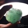 ก้อนแร่ฟลูออไรต์ Fluorite สีเขียวโปร่งแสง #FLU000