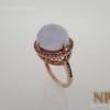 แหวนเงินคาสิโดนี(Silver ring chalcedony)