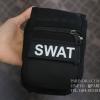กระเป๋าคาดเอว รุ่น SX-011 ผ้าไนลอนลาย SWAT สีดำ