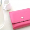 Crown Wallet D. (Cherry Hot Pink)