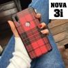 เคส Huawei Nova 3i เคสยางซิลิโคน ทำเป็นลายผ้า ลายสก็อต โดนใจสายวินเทจ สวยๆ
