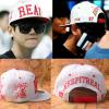 หมวก REAL สีขาว แบบ Baekhyun