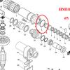 โอริง เครื่องสกัด มากีต้า Makita รุ่น HM0810, HM810, HM 0810T #5 (แท้-สินค้าไม่มีในสต้อก)