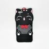 OPPO R9S เคสยาง 3Dแมวดำ