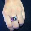 แหวนเงินแบล๊คสตาร์ (Black star silver ring)