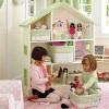 ชั้นเก็บของเล่นบ้านตุ๊กตา Doll House Bookcase