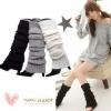 [พร้อมส่ง] S8143 ถุงขาหรือปลอกขา ใส่แบบย่น หรือใส่กันหนาวก็ได้ สไตล์ญี่ปุ่น