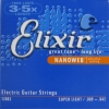 Electric Guitar Strings NanoWeb Coating Super Light 009 - 042