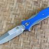RHK Maximus Bayonet Grind Stonewash Blue G10