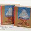 ไพ่พลาสติกอย่างดี วีโอตอง 1 ขอบทอง V.O.Gold-111 Plastic Playing Cards