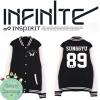 เสื้อเบสบอลแขนยาว infinite (ชื่อเมมเบอร์)