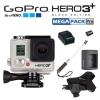 GoPro Hero3 Plus Black Edition กล้องถ่าย HD แบบ X-Treme ราคาจริง 399.99$ ลดเหลือ 12,500 บาท