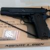 ปืนอัดลม แบบชักยิง Colt 1911 สีดำ ยี่ห้อ Double bell