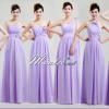 Pre-order ชุดราตรียาว ชุดเพื่อนเจ้าสาว สีม่วงอ่อน Lavender Lv-002
