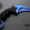 มีดคารัมบิต (Karambit) ใบสีน้ำเงิน