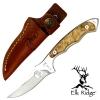 """มีดใบตาย Elk Ridge # ER-059 FIXED BLADE KNIFE 7"""" ด้ามไม้แท้ ของแท้"""