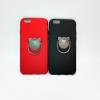 ไอโฟน 6plus/6splus 5.5 นิ้ว เคสนิ่มเนื้อกำมะหยี่ติดแหวนหมีchengo