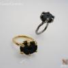 แหวนเงิน Tabasco Geode (Silver ring Tabasco Geode)
